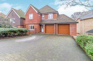 5 Bedrooms Detached House for sale in Harlequin Fields, Borstal Road, Rochester, Kent