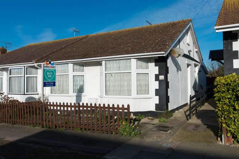 2 Bedrooms Semi Detached Bungalow for sale in St. Margarets Road, Westgate-On-Sea