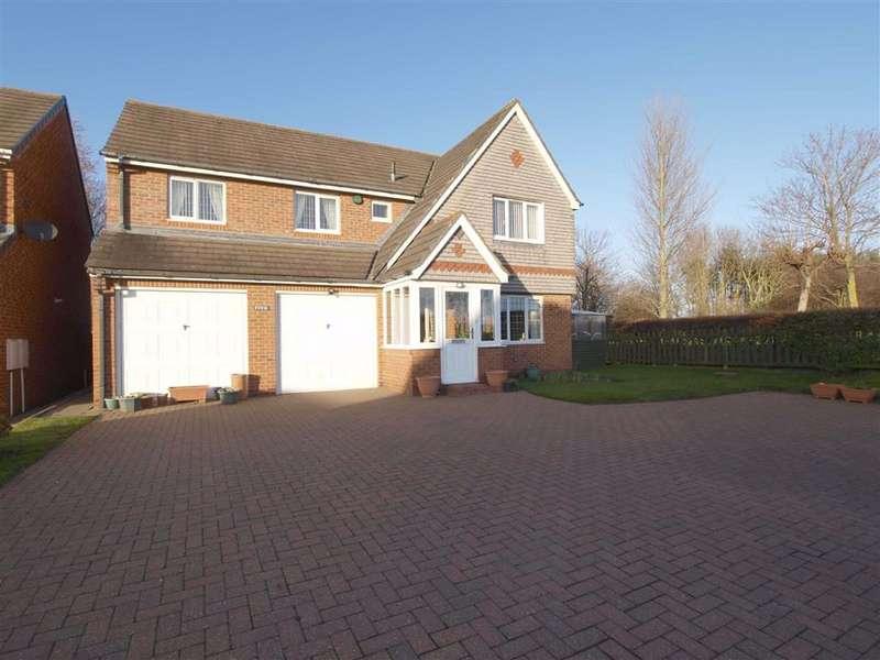 4 Bedrooms Detached House for sale in Kelsey Way, Cramlington