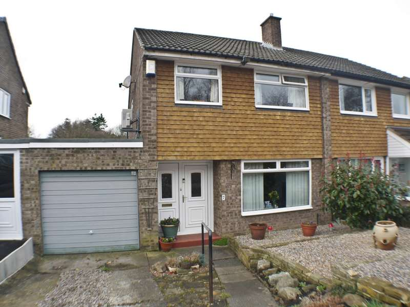3 Bedrooms Semi Detached House for sale in Welton Close, Stocksfield, NE43