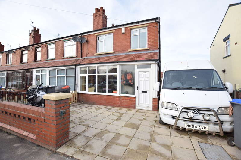 3 Bedrooms End Of Terrace House for sale in Marsden Road, Blackpool