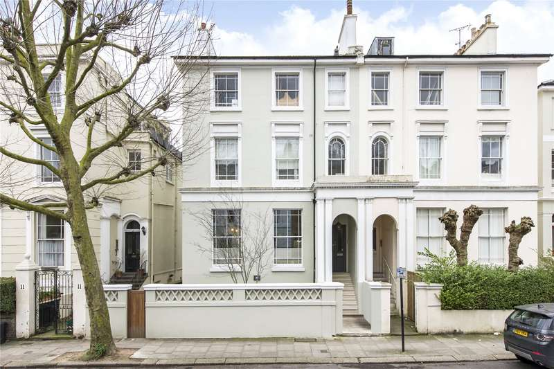 3 Bedrooms Maisonette Flat for sale in Regents Park Road, Primrose Hill, London, NW1