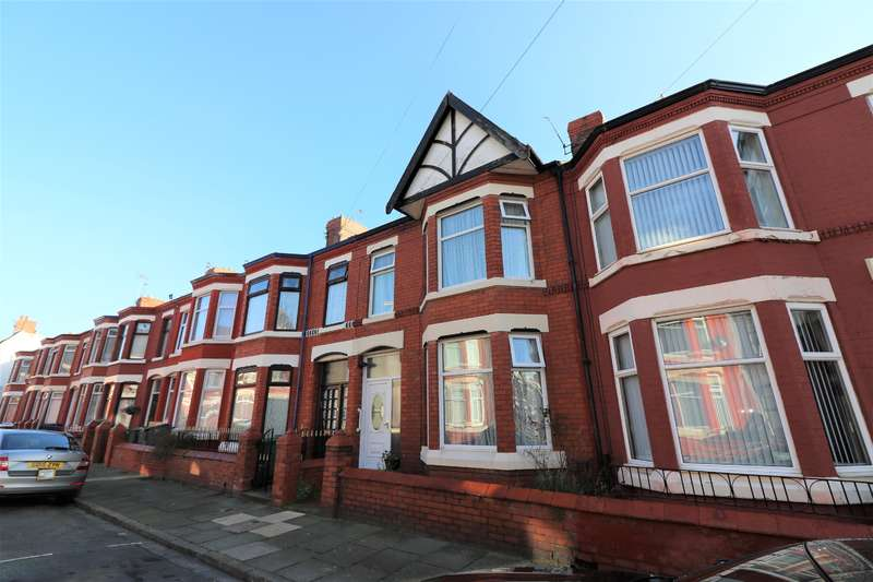 3 Bedrooms Terraced House for sale in Kingsley Road, Wallasey, Wirral, CH444DS