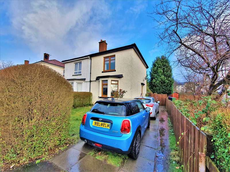 2 Bedrooms Semi Detached House for sale in Gartcraig Road , Riddrie, G33