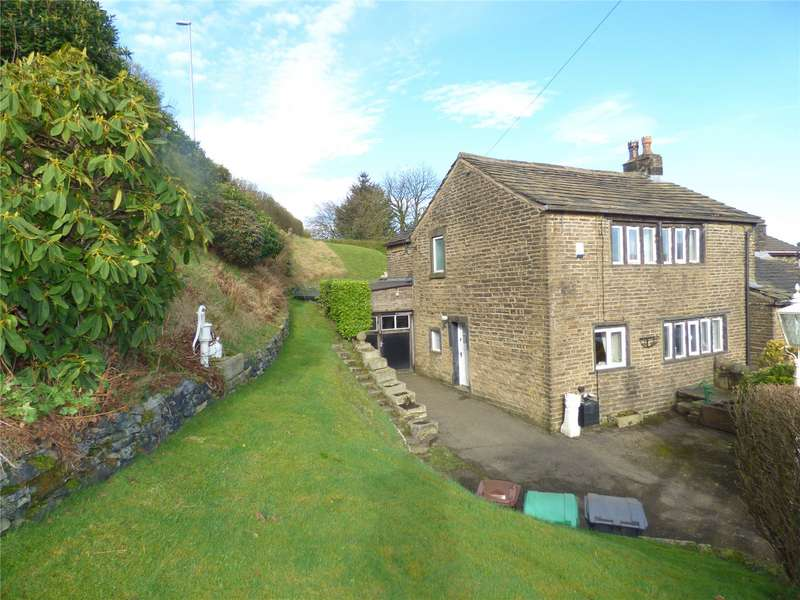 2 Bedrooms Semi Detached House for sale in Wall Hill Cottages, Wall Hill Road, Dobcross, Saddleworth, OL3