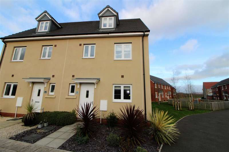 4 Bedrooms Semi Detached House for sale in Bessemer Drive, Newport