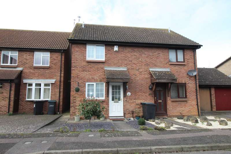 2 Bedrooms Semi Detached House for sale in Henley Deane, Northfleet, Gravesend, Kent, DA11