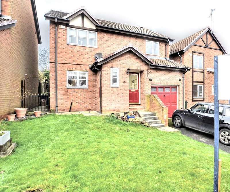 4 Bedrooms Detached House for sale in Rose Hill Drive, Dodworth, Barnsley, S75 3LY