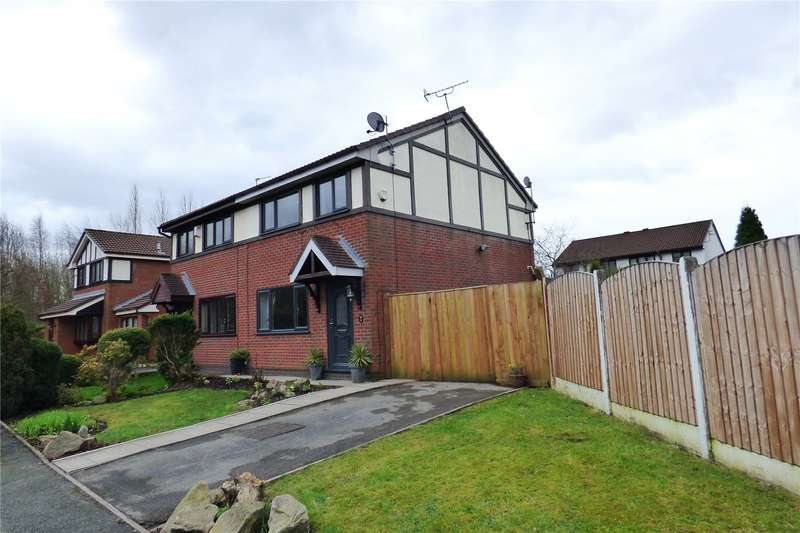 3 Bedrooms Semi Detached House for sale in Martingale Way, Droylsden, Manchester, Greater Manchester, M43