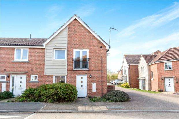 1 Bedroom End Of Terrace House for sale in Englefield Way, Basingstoke, Hampshire