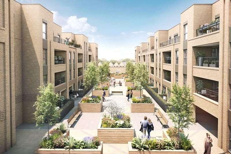 2 Bedrooms Apartment Flat for sale in New Mill Quarter, Hackbridge Road, Wallington