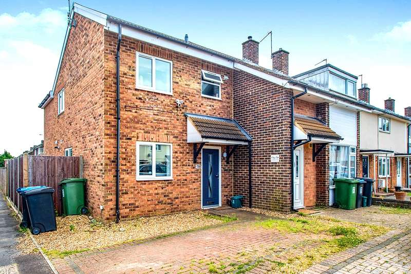3 Bedrooms End Of Terrace House for sale in Gadebridge Road, Gadebridge, Hemel Hempstead, Hertfordshire, HP1