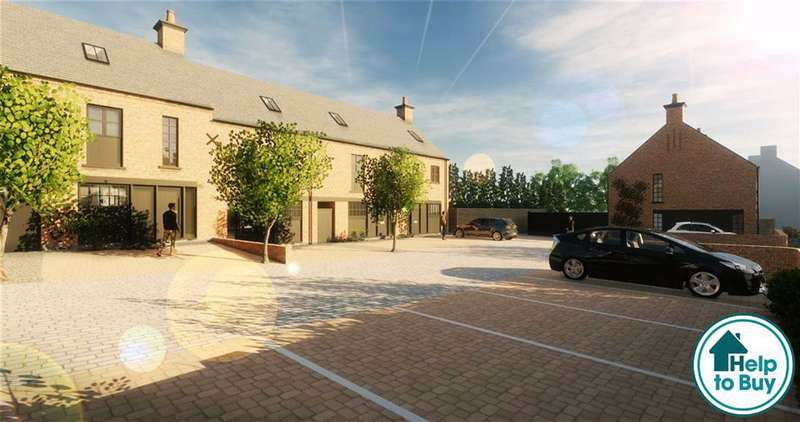 3 Bedrooms Town House for sale in Rose Yard And Crown House, Kibworth, Leicester