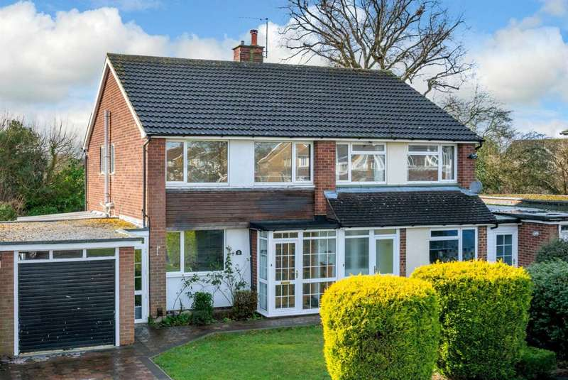 3 Bedrooms Semi Detached House for sale in FAMILY HOME WITH GARAGE AND DRIVEWAY IN POPULAR LEVERSTOCK GREEN