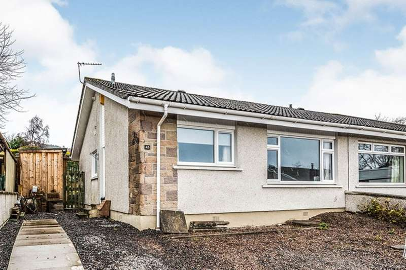 2 Bedrooms Semi Detached Bungalow for sale in Leachkin Avenue, Inverness, Highland, IV3