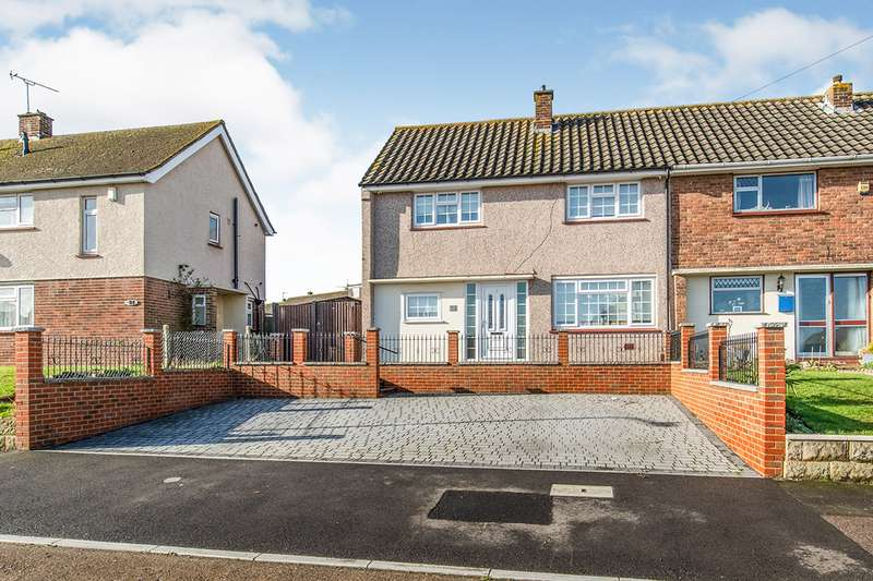 3 Bedrooms Semi Detached House for sale in Wilberforce Way, Gravesend, Kent, DA12