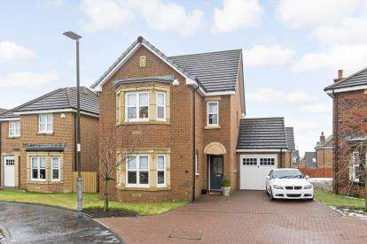 4 Bedrooms Detached House for sale in Harlequin Court, Hamilton