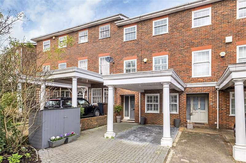 4 Bedrooms Terraced House for sale in Pine Grove, London, SW19