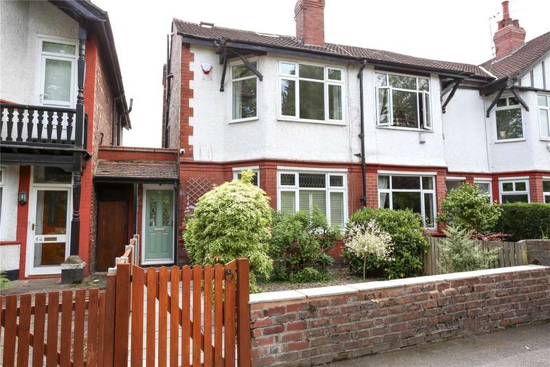 4 Bedrooms End Of Terrace House for sale in Atwood Road, Didsbury, Manchester, M20