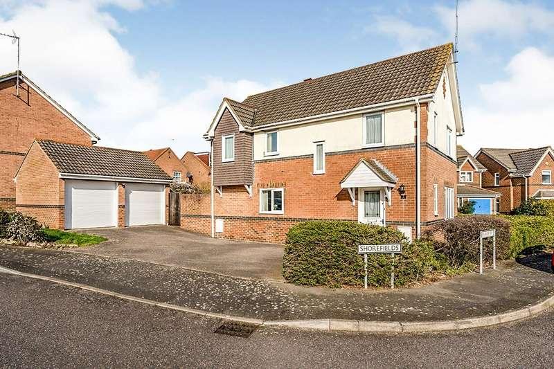 4 Bedrooms Detached House for sale in Shorefields, Rainham, Gillingham, Kent, ME8