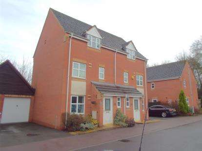 3 Bedrooms Semi Detached House for sale in Marriott Close, Leicester Forest East, Leicester, Leicestershire