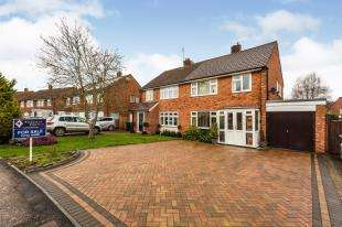 3 Bedrooms Semi Detached House for sale in Silverhurst Drive, Tonbridge, Kent, .