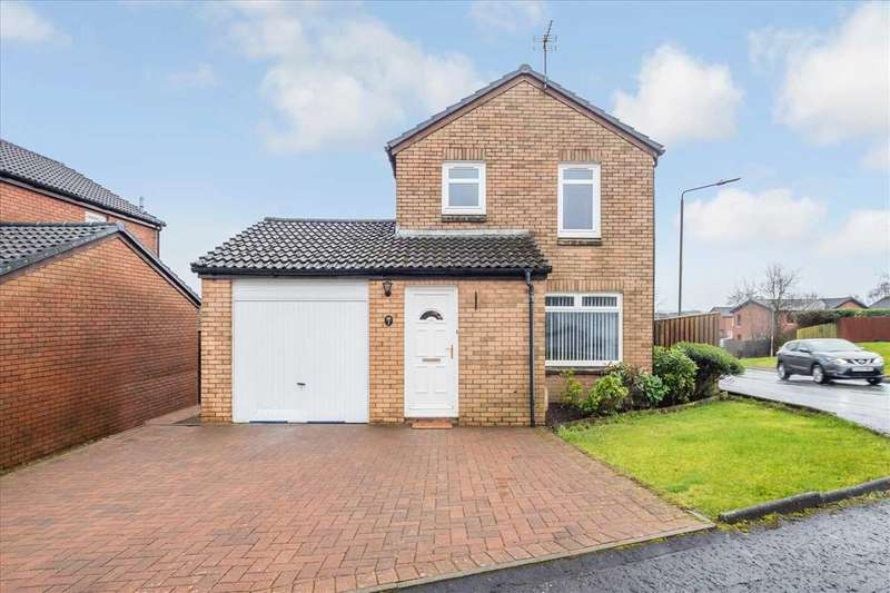 3 Bedrooms Detached House for sale in Dove Place, Gardenhall, EAST KILBRIDE