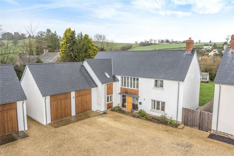 4 Bedrooms Detached House for sale in St. Nicholas Rise, Combe Raleigh, Honiton, Devon, EX14