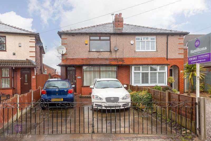 3 Bedrooms Semi Detached House for sale in Holden Road, Leigh, Greater Manchester. WN7 1HA