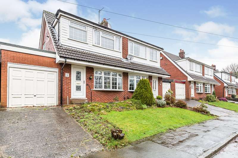 3 Bedrooms Semi Detached House for sale in Fountains Close, Chorley, Lancashire, PR7