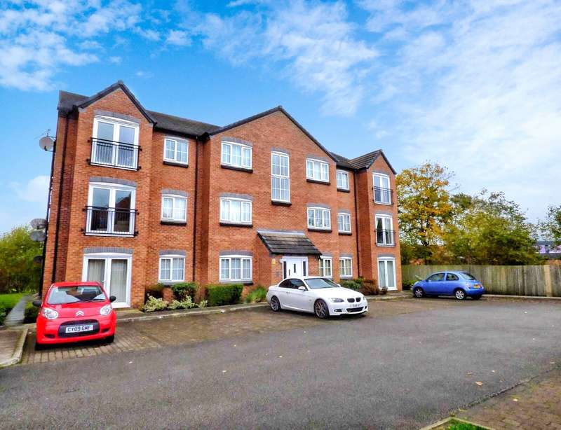 2 Bedrooms Apartment Flat for sale in Baldwins Close, Royton, Oldham, Greater Manchester, OL2