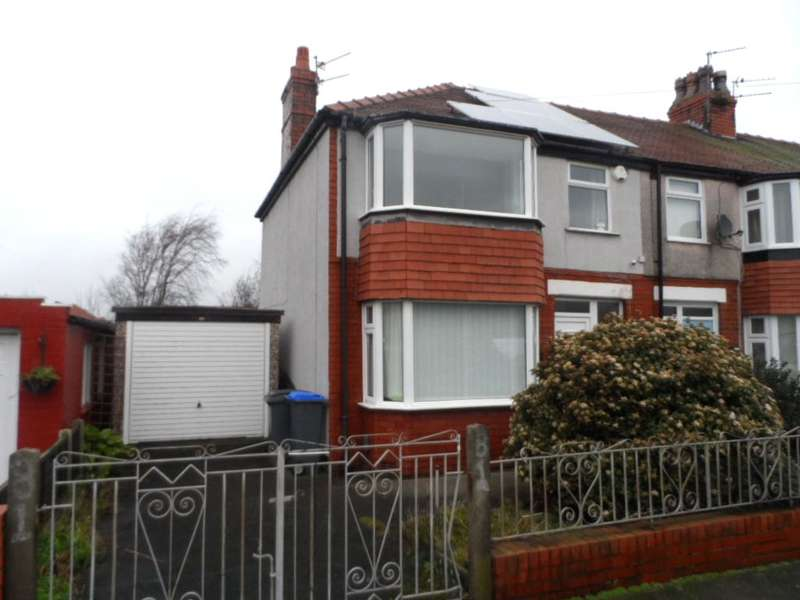 3 Bedrooms End Of Terrace House for sale in Willowbank Avenue, Blackpool, FY4 3ND