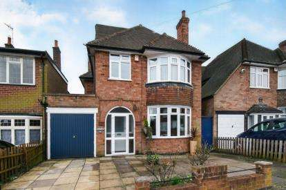 5 Bedrooms Detached House for sale in Romway Road, Evington, Leicester, Leicestershire