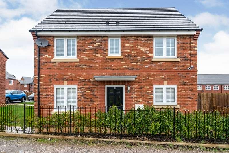 3 Bedrooms Semi Detached House for sale in Gauntley Gardens, Billinge, Wigan, Merseyside, WN5