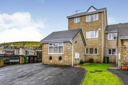 4 Bedrooms End Of Terrace House for sale in Croft Row, Audley Street, Mossley