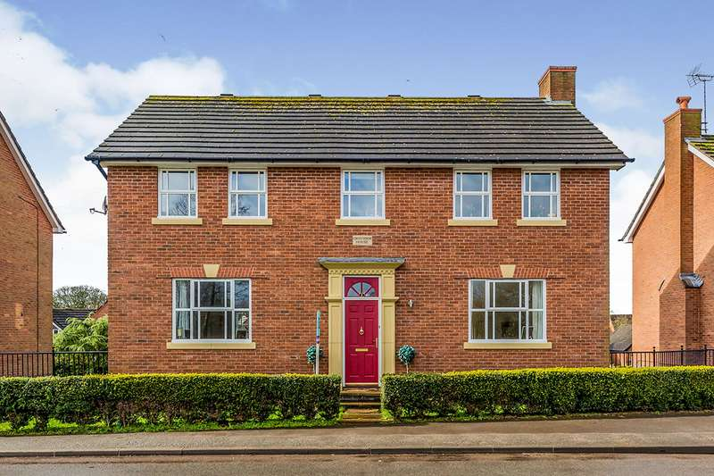 5 Bedrooms Detached House for sale in Pool View, Winterley, Sandbach, Cheshire, CW11