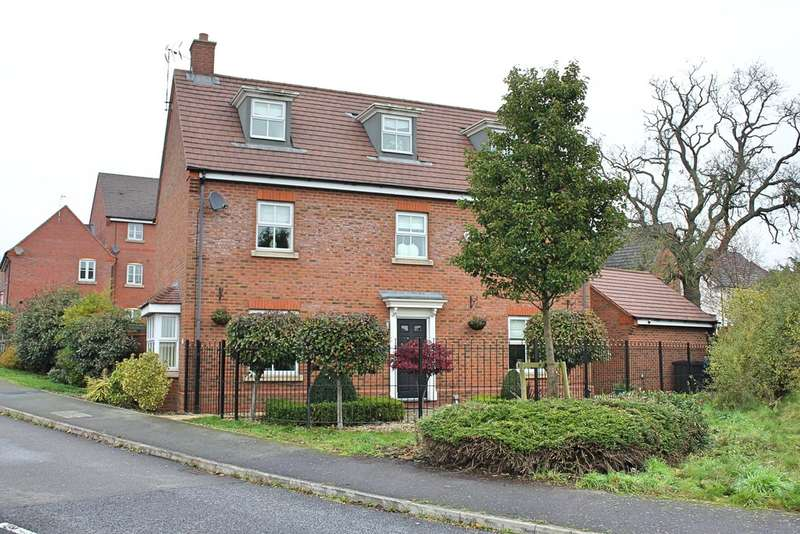 5 Bedrooms Detached House for sale in Masefield Drive, Earl Shilton, Leicester