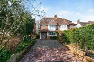 4 Bedrooms Semi Detached House for sale in Hadlow Road, Tonbridge, Kent, .
