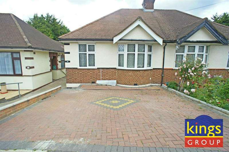 2 Bedrooms Semi Detached Bungalow for sale in Amesbury Drive, London