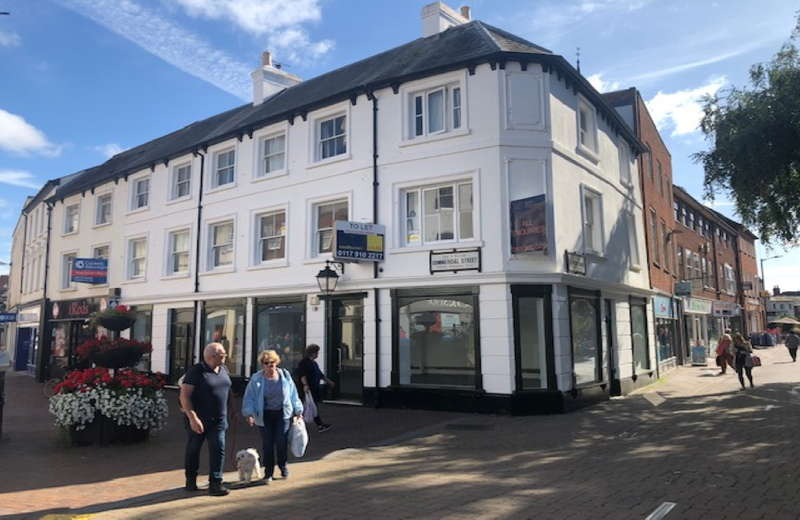 Commercial Property for rent in 62 Commercial Street, Hereford, Hereford, Herefordshire, HR1 2DJ
