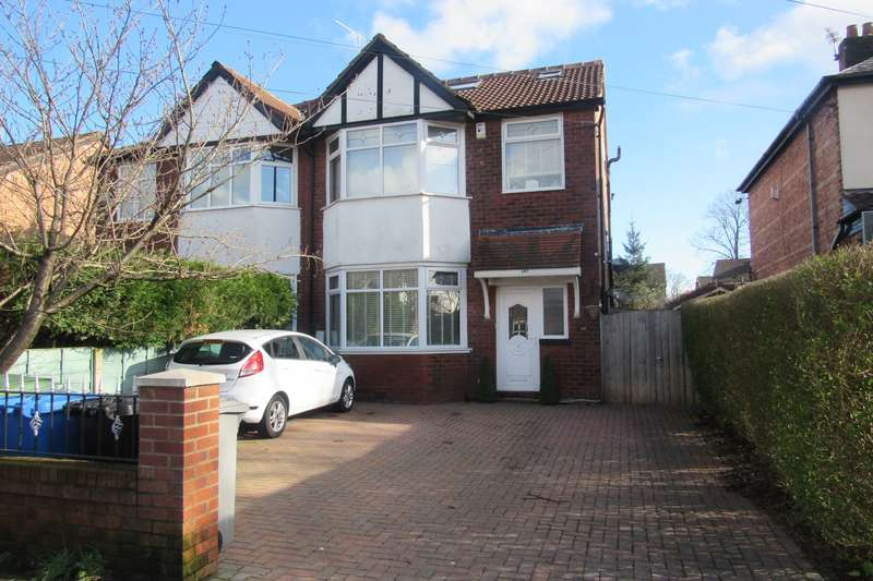 4 Bedrooms Semi Detached House for sale in Church Road, Trafford, M41