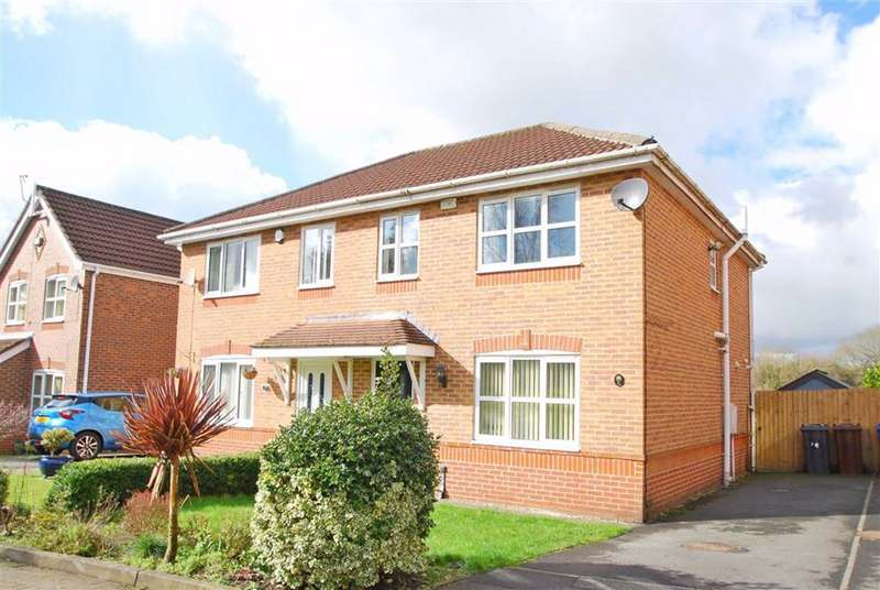 3 Bedrooms Semi Detached House for sale in Burrs Lea Close, Bury, Greater Manchester