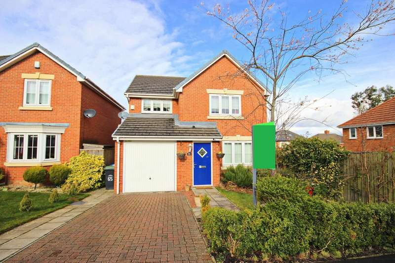 3 Bedrooms Detached House for sale in Holly Crescent, Sacriston, Durham