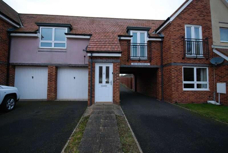 2 Bedrooms Flat for sale in Hindmarsh Drive, Ashington