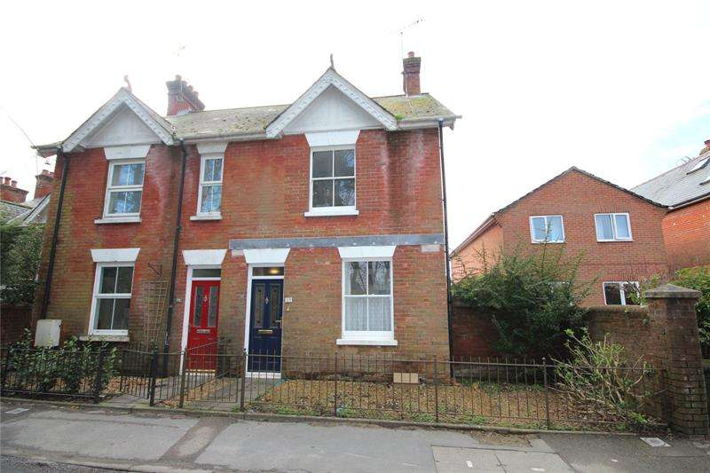 2 Bedrooms Semi Detached House for sale in Station Road, Fordingbridge, Hampshire, SP6