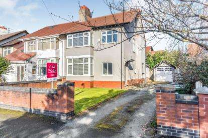 3 Bedrooms Semi Detached House for sale in Ennismore Road, Crosby, Liverpool, Merseyside, L23