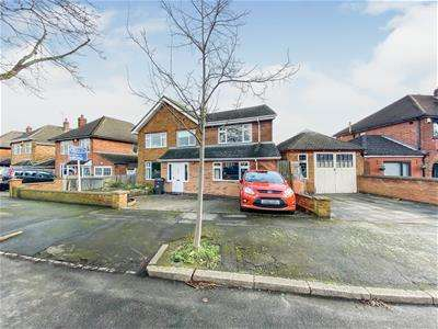 4 Bedrooms Detached House for sale in Garland Crescent, Leicester