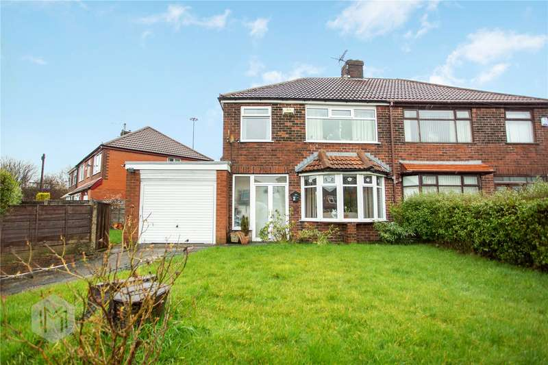 3 Bedrooms Semi Detached House for sale in Kershaw Drive, Chadderton, Oldham, Greater Manchester, OL9