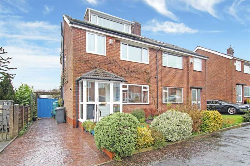 4 Bedrooms Semi Detached House for sale in Ferndene Road, Whitefield