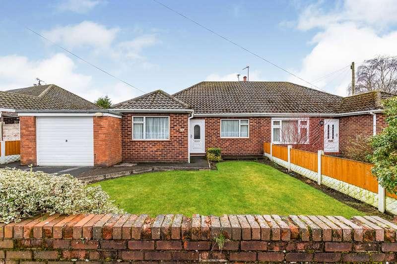 Semi Detached Bungalow for sale in Wordsworth Avenue, Billinge, Wigan, Merseyside, WN5